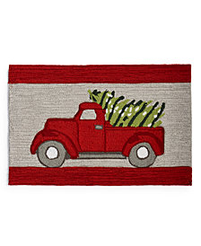 "Martha Stewart Collection Tree Truck 20"" x 30"" Accent Rug, Created for Macy's"