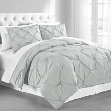Premium Collection King Pintuck Bedding Comforter Set