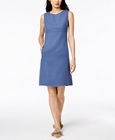 Weekend Max Mara Pontile Empire-Waist Sheath Dress