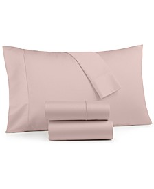 Sleep Luxe 800 Thread Count, 4-PC King Sheet Set, 100% Cotton, Created for Macy's