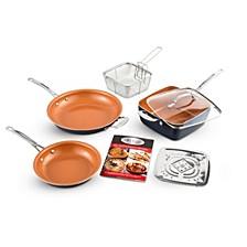 Non-Stick Ti-Ceramic 7 Piece Cookware Set