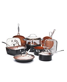 Non-Stick Ti-Ceramic 15 Piece Cookware Set