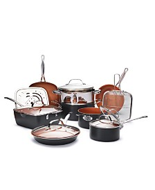 Gotham Steel 15-Pc. Cookware Set