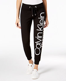 Calvin Klein Performance Fleece Logo Joggers