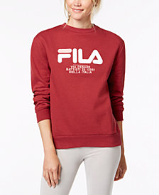 Fila Logo-Graphic Sweatshirt