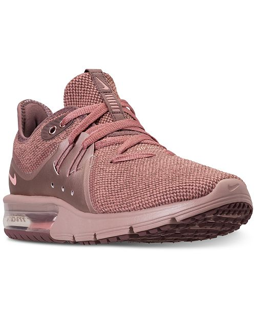 detailing 826ca 2b0c7 ... Nike Women s Air Max Sequent 3 Premium AS Running Sneakers from Finish  ...