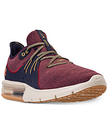 Nike Men's Air Max Sequent 3 Premium Running Sneakers from Finish Line