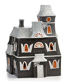 Martha Stewart Collection Haunted House Cookie Jar, Created for Macy's