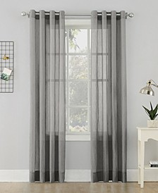 Crushed Sheer Voile Grommet Top Curtain Collection