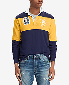Polo Ralph Lauren Men's Big & Tall Classic-Fit Jersey Rugby Shirt