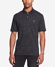 DKNY Men's Camouflage Polo