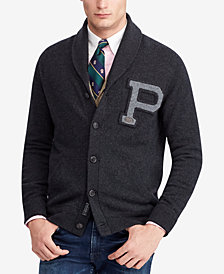 Polo Ralph Lauren Men's Merino Wool Classic Fit Shawl Cardigan