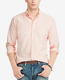 Polo Ralph Lauren Men's Pink Pony Classic Fit Shirt