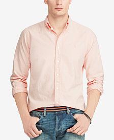 Polo Ralph Lauren Men's Pink Pony Classic Fit Shirt