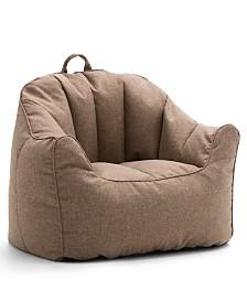 Big Joe Lux Hug Bean Bag Chair, Quick Ship