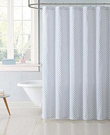 My World Dot Shower Curtain