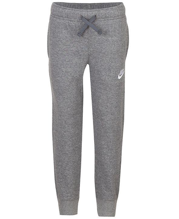 Nike Little Boys Fleece Jogger Pants