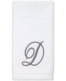 LAST ACT! Avanti Script Monogram 3-Pc. Lotion Pump & Fingertip Towel Box Set