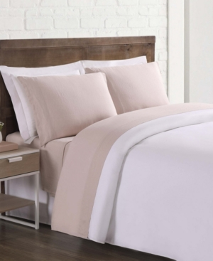 Brooklyn Loom Flax Linen Queen Sheet Set Bedding