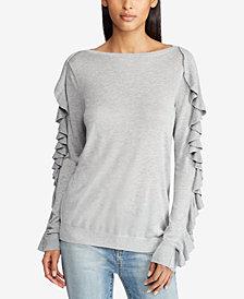 Lauren Ralph Lauren Ruffled Sweater