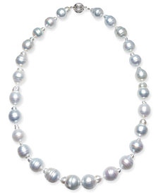 "Baroque Cultured South Sea Pearl (11-14mm) 17"" - 18"" Collar Necklace"