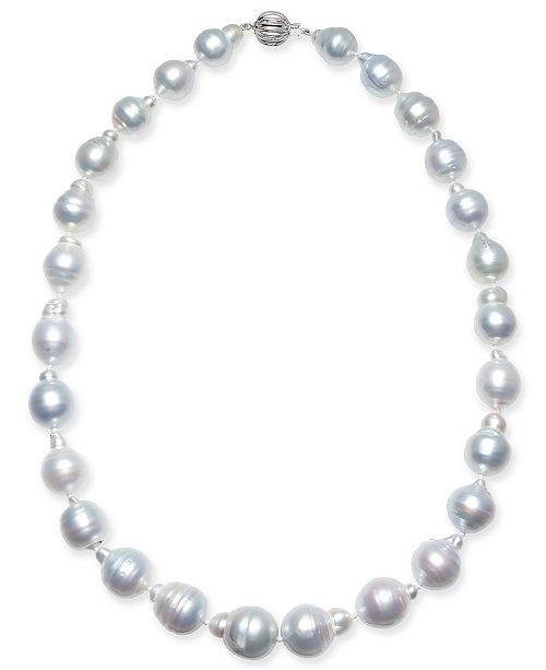 """Macy's Baroque Cultured South Sea Pearl (11-14mm) 17"""" - 18"""" Collar Necklace"""