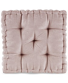 "Azza 20"" x 20"" Poly Chenille Square Floor Pillow Cushion"