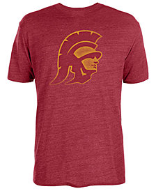 Authentic NCAA Apparel Men's USC Trojans Big Logo Triblend T-Shirt