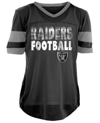 raiders jersey for girls