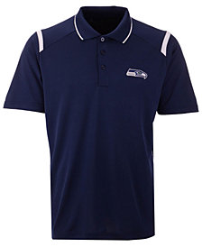 Antigua Men's Seattle Seahawks Merit Polo