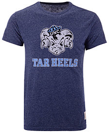 Retro Brand Men's North Carolina Tar Heels Mock Twist Vault Logo T-Shirt