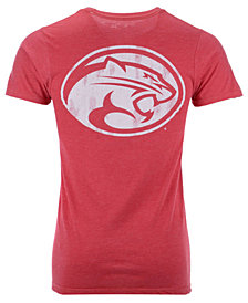 Retro Brand Men's Houston Cougars Team Stacked Dual Blend T-Shirt
