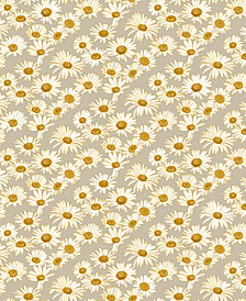 Tempaper Daisies Self-Adhesive Wallpaper