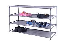Home Basics 20 Pair Non-Woven Shoe Shelf