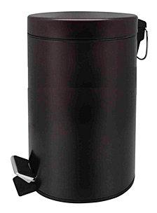 Home Basics 12 Liter Round Waste Bin