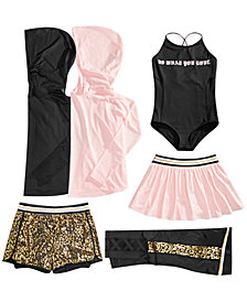 Ideology Big Girls Mesh & Print Mix and Match Dance Outfits