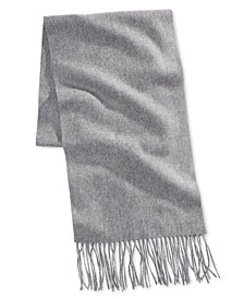 Men's Solid Cashmere Scarf, Created for Macy's