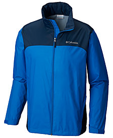 Columbia Men's Big Glennaker Lake™ Colorblocked Rain Jacket