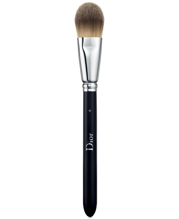 Dior Backstage Light Coverage Fluid Foundation Brush N°11 & Reviews - Makeup - Beauty - Macy's