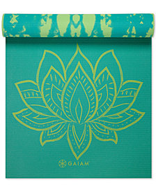 Gaiam 6mm Reversible Yoga Mat