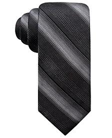 Ryan Seacrest Distinction™ Men's Lombardy Stripe Slim Tie, Created for Macy's