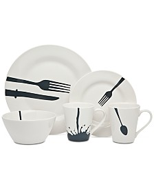 Godinger Acme 16-Pc. Dinnerware Set