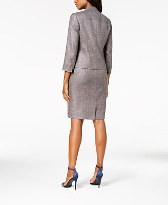 Anne Klein Cropped Jacket Sheath Dress Created For Macy S Wear