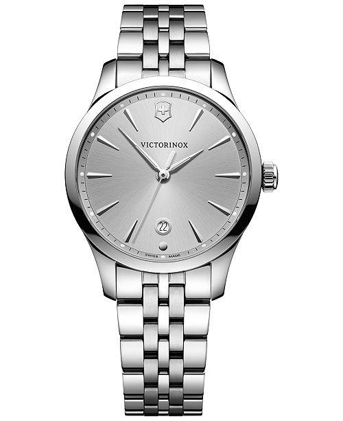 Victorinox Swiss Army Women's Swiss Alliance Small Stainless Steel Bracelet Watch 35mm