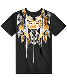 Sean John Big Boys Lion Graphic T-Shirt