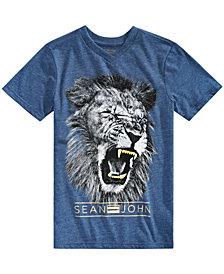 Sean John Big Boys Lion Graphic T-Shirt