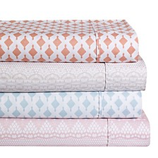 Ellen Tracy Microfiber Solid and Print Sheet Set Collection