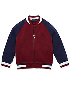 Polo Ralph Lauren Little Boys Cotton Baseball Jacket