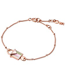 Women's Kors Color Semi-Precious Sterling Silver Bracelet