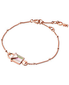 Michael Kors Women's Kors Color Semi-Precious Sterling Silver Bracelet